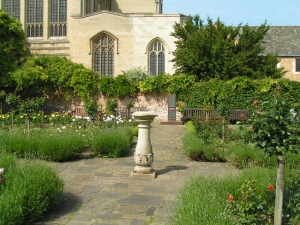 The John Appleby Rose Garden in the Abbey Gardens, Bury St. Edmunds