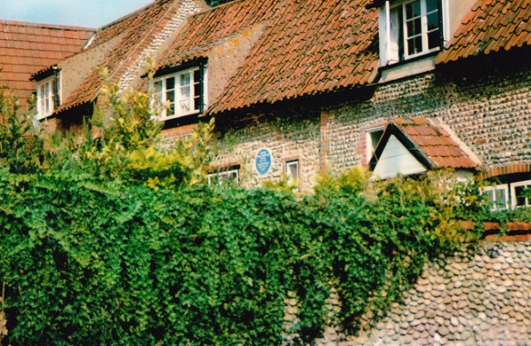 Henry Williamson's home at Stiffkey, Norfolk